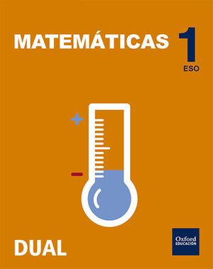 MATEMATICAS 1º ESO INICIA DUAL (1VOL)  ED.2015