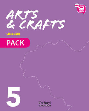 NEW ARTS AND CRAFTS 5º EP PACK ED. 2018