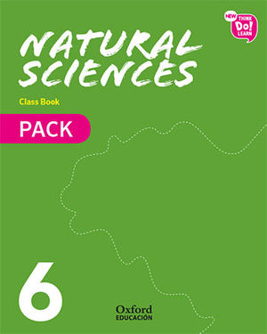 NEW THINKS DO NATURAL SCIENCE 6º EP PACK CUADERNOS