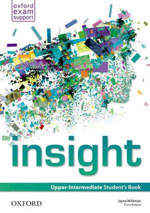 INSIGHT UPPER-INTERMEDIATE STUDENT´S BOOK ED. 2014