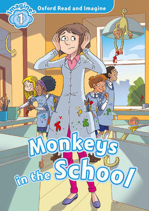 IMAGINE 1  MONKEYS IN SCHOOL ED. 2016