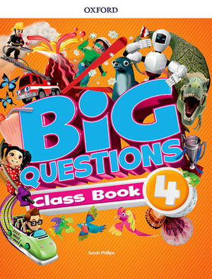 BIG QUESTIONS 4 PUPIL´S BOOK  ED. 2017