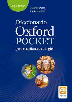 DICCIONARIO OXFORD POCKET INGLES ESPAÑOL 5ª ED. 2018