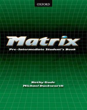MATRIX  PRE INTERMEDIATE SB