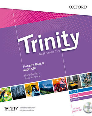 TRINITY 7-9 STUDENT´S BOOK & AUDIO CD´S