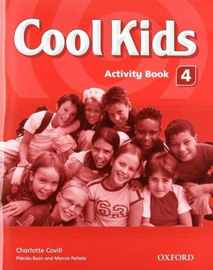 COOL KIDS 4 ACTIVITY BOOK + CD-ROM ED. 2007