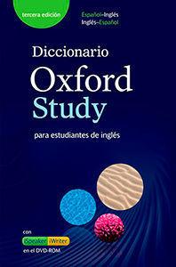 DICCIONARIO OXFORD STUDY ESPAÑOL INGLES 3º ED.