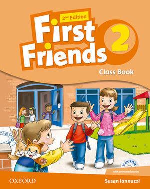 FIRST FRIENDS 2 CLASS BOOK 2ª EDITION ED. 2014