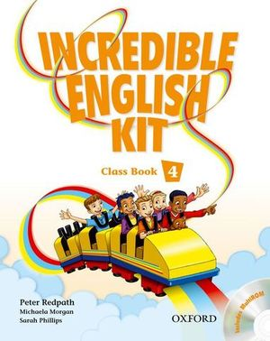 INCREDIBLE ENGLISH KIT 4 CLASS BOOK