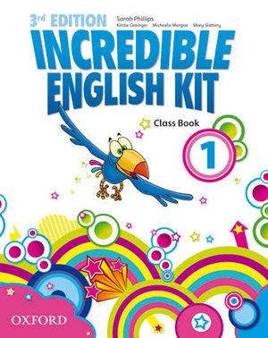 INCREDIBLE ENGLISH KIT 1  3ª EDITION CLASS BOOK ( 2014 )