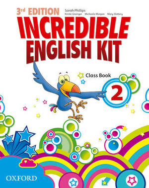 INCREDIBLE ENGLISH KIT 2  3ª EDITION CLASS BOOK ( 2014 )