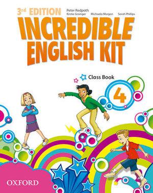 INCREDIBLE ENGLISH KIT 4  3ª EDITION CLASS BOOK ( 2014 )