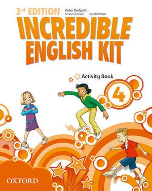 INCREDIBLE ENGLISH KIT 4   3ª EDITION ACTIVITY BOOK ( 2014 )