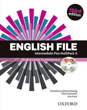 ENGLISH FILE INTERMEDIATE PLUS STUDENT´S BOOK A