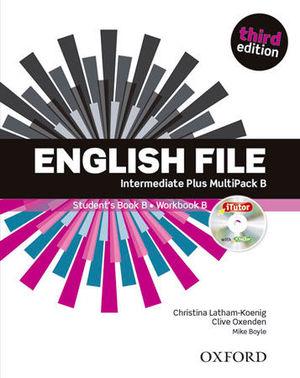 ENGLISH FILE INTERMEDIATE PLUS STUDENT´S BOOK B 3ª ED.