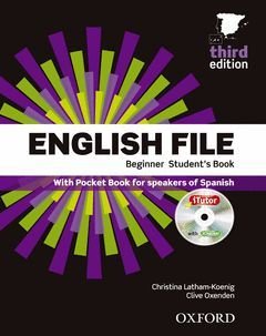 PACK ENGLISH FILE BEGINNER 3º ED.