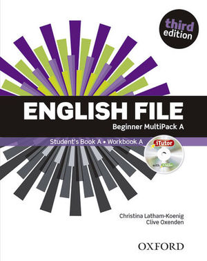 ENGLISH FILE BEGINNER MULTIPACK A 3ª ED.