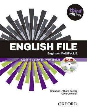 ENGLISH FILE BEGINNER MULTIPACK B 3ª ED.