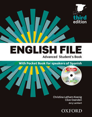 ENGLISH FILE ADVANCED STUDENT´S BOOK 3ª ED,