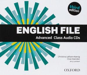ENGLISH FILE ADVANCED 3ª ED. CLASS AUDIO