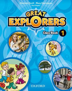 GREAT EXPLORERS 1 CLASS BOOK