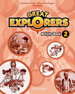 GREAT EXPLORERS 2 ACTIVITY BOOK