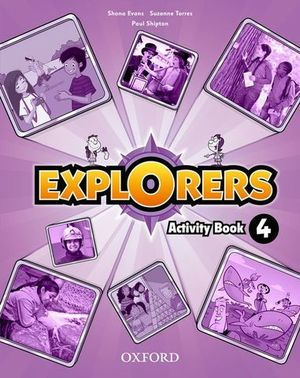 EXPLORERS 4 ACTIVITY BOOK
