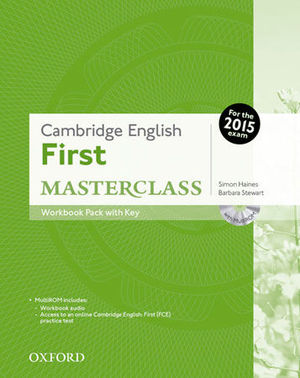 FIRST MASTERCLASS WORKBOOK PACK WITH KEY ED. 2015
