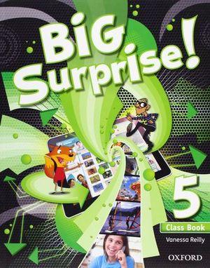 BIG SURPRISE ! 5 CLASS BOOK