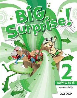BIG SURPRISE ! 2 ACTIVITY BOOK