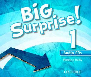BIG SURPRISE ! 1 AUDIO CD´S