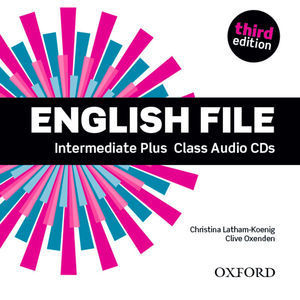 ENGLISH FILE INTERMEDIATE PLUS 3ª ED. CLASS AUDIO