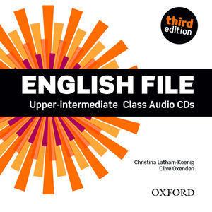 ENGLISH FILE UPPER-INTERMEDIATE 3ª ED. CLASS AUDIO