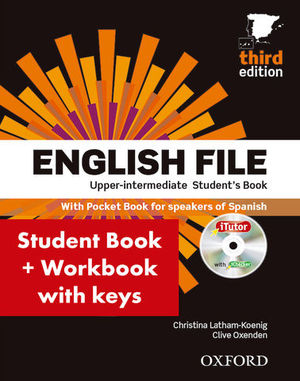 ENGLISH FILE UPPER-INTERMEDIATE STUDENT´S PACK 3ª ED.