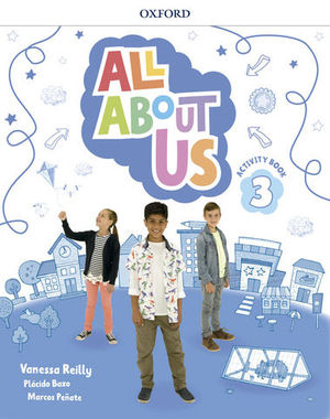 ALL ABOUT US 3º EP ACTIVITY BOOK  ED. 2018