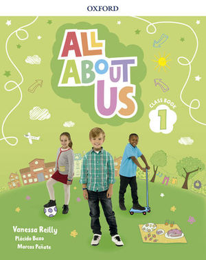 ALL ABOUT US 1º EP PUPIL´S BOOK ED. 2018