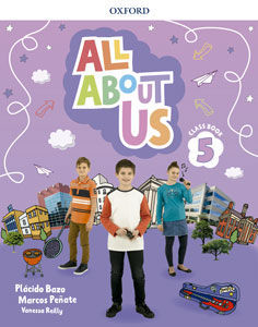 ALL ABOUT US 5º EP PUPIL´S BOOK ED. 2018
