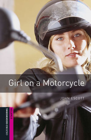 OBL STARTER GIRL ON A MOTORCYCLE