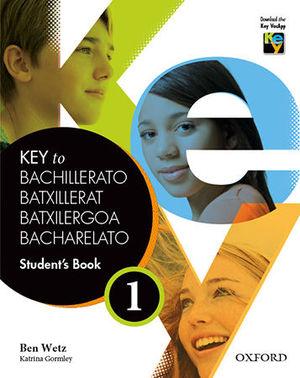 KEY TO BACHILLERATO 1  STUDENT´S BOOK