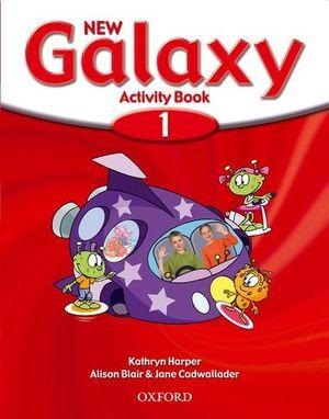 NEW GALAXY 1 ACTIVITY BOOK