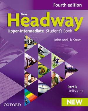 NEW HEADWAY UPPER-INTERMEDIATE STUDENT´S PACK 4ª ED.