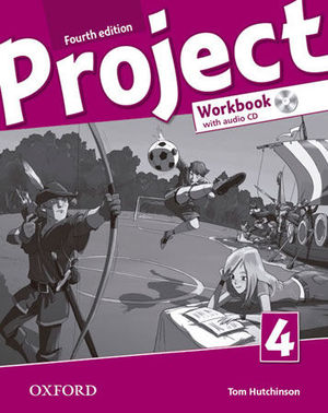 PROJECT 4 WORKBOOK WITH AUDIO CD 4ª ED.