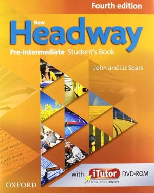 PACK NEW HEADWAY PRE-INTERMEDIATE 4ª ED. STUDENT´S BOOK + WORKBOOK
