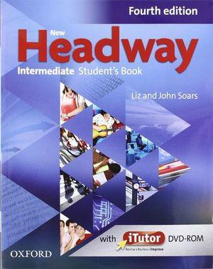 PACK NEW HEADWAY INTERMEDIATE 4ª ED. STUDENT´S BOOK + WORKBOOK