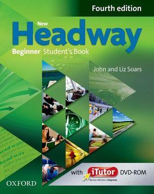 NEW HEADWAY BEGINNER STUDENT´S BOOK 4ª ED.