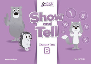 SHOW AND TELL B NUMERACY BOOK