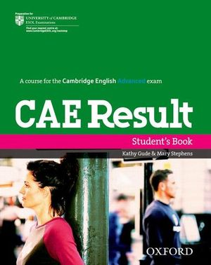 CAE RESULTS STUDENT´S BOOK
