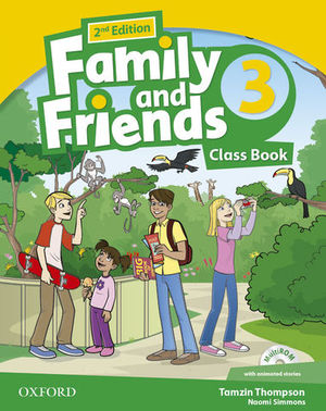 FAMILY AND FRIENDS 3 CLASS BOOK 2ª ED.