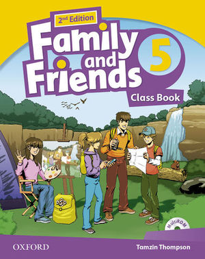 FAMILY AND FRIENDS 5 CLASS BOOK 2ª ED.