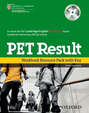 PET RESULT WORKBOOK RESOURCE PACK WITH KEY